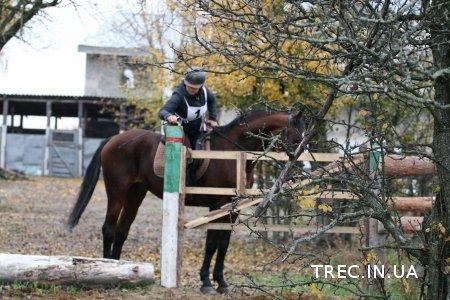TREC-UA 2017.10.22.Полоса препятствий. Часть1.Фото Марии Кравец.